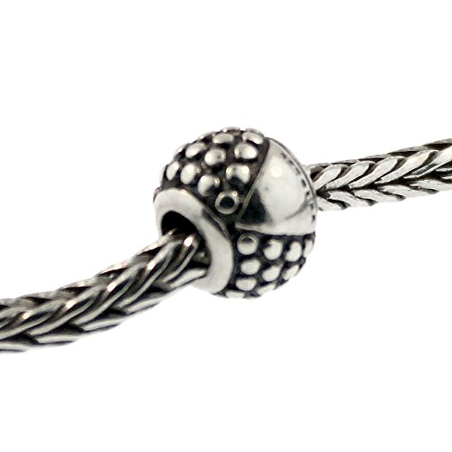Authentic Trollbeads Sterling Silver 11252 Etruscan Etruscan Silver Bracelet