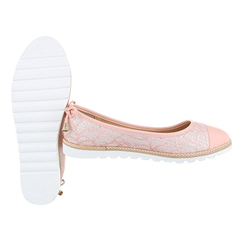 Ital-Design - zapatilla baja Mujer Rosa 6290-P