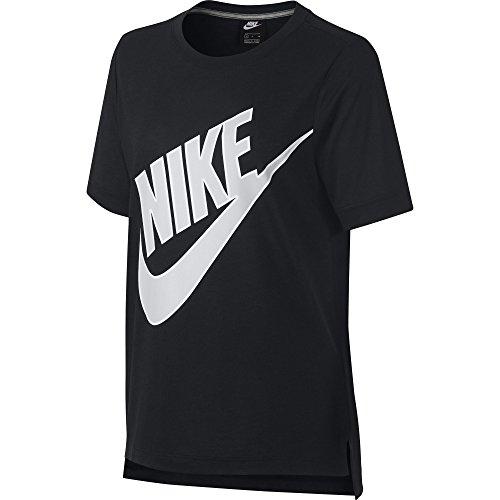 W Donna grigio Prep Nike Nero Grey Futura Maglietta Ss Nsw vast BAAwxY6