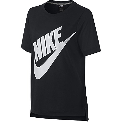 Prep Maglietta grigio Futura Donna W Ss vast Nero Nsw Grey Nike wxqUnZw