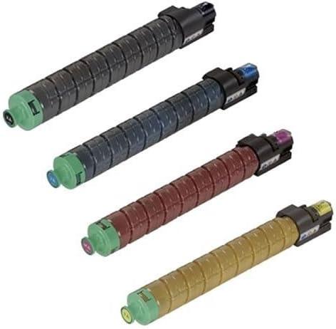 841295 841296 841297 841298 For Ricoh Aficio MP C300 C300SR C400 C400SR By Tonerdeal K//C//M//Y Ricoh Aficio MP C300 Color Set Compatible Toner Cartridge