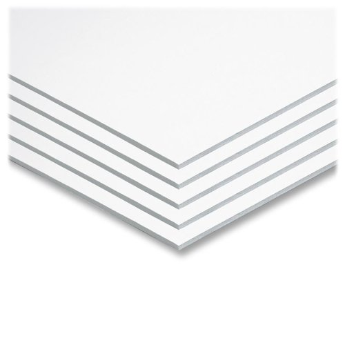 Wholesale CASE of 10 - Pacon Original Fome-Cor Foam Graphic Art Boards-Foam Board, 22''x28'', 5/CT, White by PAC