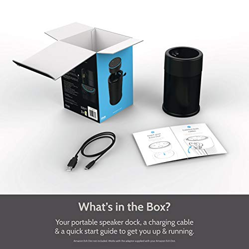 Wireless Battery Speaker for Amazon Echo Dot 2nd Generation by i-box (Image #6)