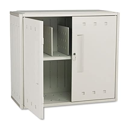 Iceberg Snapease Stackable Storage Cabinet with Lock Platinum 36w x 16d x 32h (  sc 1 st  Amazon.com & Amazon.com: Iceberg Snapease Stackable Storage Cabinet with Lock ...