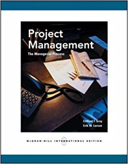 Amazon project management the managerial process amazon project management the managerial process 9780071244466 clifford f gray erik w larson books fandeluxe Choice Image