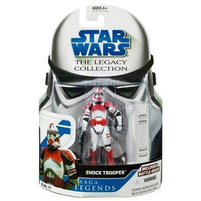 Star Wars Clone Wars Saga Legends Action Figure SL No. 17 Shock Trooper (Trooper Shock Clone)