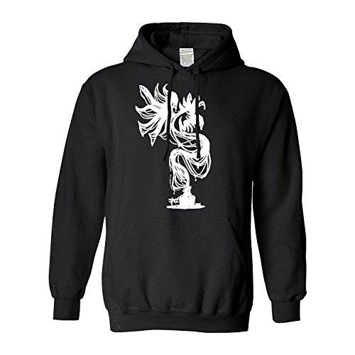 Dragon Popular Men's Hoodies(Medium,Black)