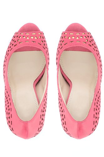 Go Tendance - Zapatos de vestir para mujer Rosa - Rose foncé