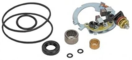 Starter Repair Rebuild Kit for Honda TRX500FA FourTrax Foreman Rubicon  2004-2009, TRX500FGA FourTrax Rubicon 2004-2005, TRX500FGA FourTrax Foreman