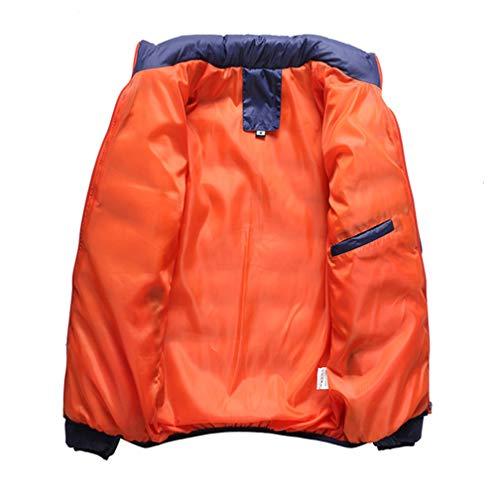 Blu Capospalla Slim Vento A Mens Giacca Giacche Basamento Fit Casual Dsjj Bombardiere Classico Cappotti Del Collare Leggeri THqYw8a