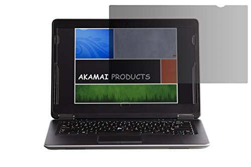 Diagonally Measured Display - Akamai Office Products 14.0 Inch (Diagonally Measured) Privacy Screen Filter for Widescreen Laptops (AP140W9B) Anti Glare