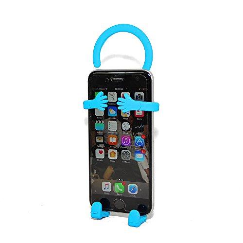 Bondi Silicon Flexible Cell Phone Holder, (Turquoise)