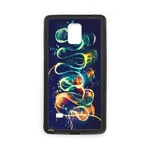 Leptocephalus Samsung Galaxy Note 4 Case, Case Doah {Black}