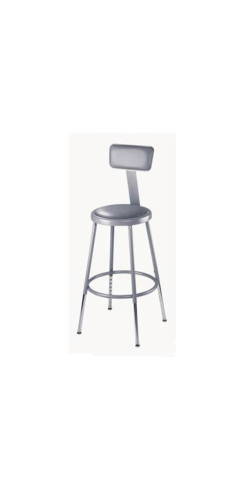 6200 Series Adjustable Counter Stool - Upholstered