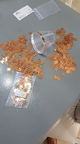 Rose Gold Plastic Cups 9 oz set of 50 By Wonder Sky -