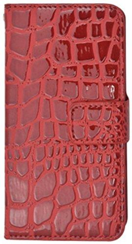 44f79a03c9 PLATA iPhone 6 iPhone6s ケース 手帳型 クロコダイル レザー デザイン スタンド 手帳 カバー iPhone 6 6s