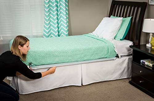 Large Product Image of Regalo Hide Away Extra Long Bed Rail, White
