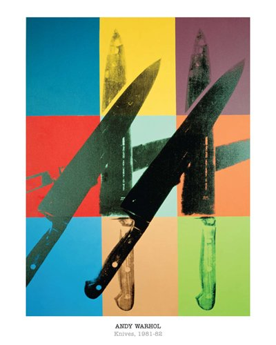 Knives, 1981-82 By: Andy Warhol 20 x 16 Art Print (Andy Warhol Knives)