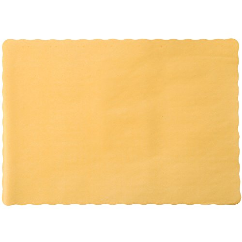 Perfectware  Placemats Gold -100 Emobossed Paper Placemats G
