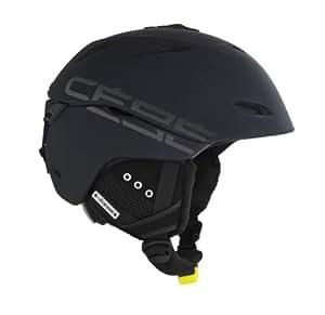 Cébé Helmet Atmosphere Deluxe - Casco de esquí, color negro, talla 52-55 cm