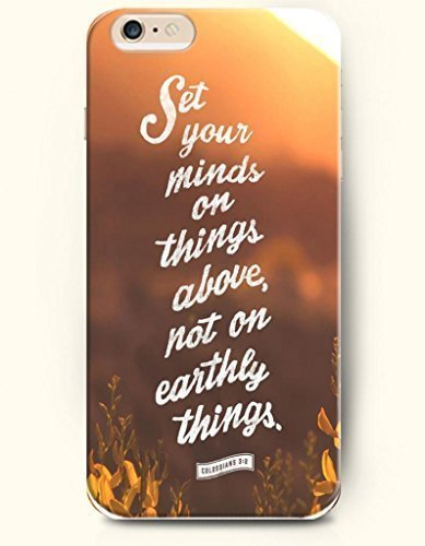 Set your minds on things above, not on earthly things Phone Case Custom Well-designed Hard Case Cover Protector For iPhone 5C