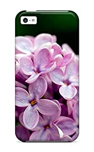 Snap-on Violet Flowers Plants Nature Flower Case Cover Skin Compatible With Iphone 5c