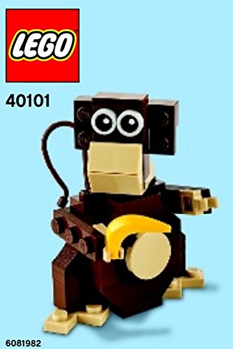 Amazon Lego Monkey Mini Model Parts Instructions 40101 Beauty