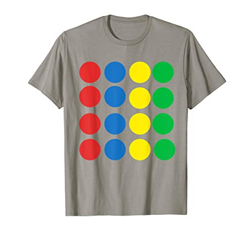 Halloween Matching group Twister Costume Family Game Night T-Shirt -