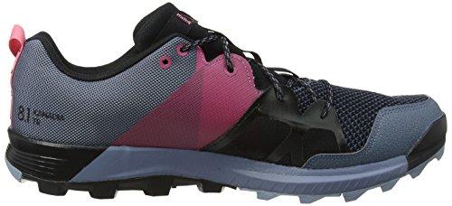 adidas Damen Kanadia 8.1 TR W Laufschuhe Grau (Raw Steel S18/off Wht/real Pink S18)
