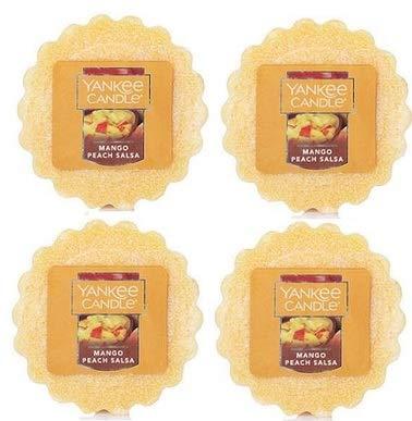 - Yankee Candle 4 Mango Peach Salsa Tart Wax Fragrance Melt 0.8 Oz. Air Freshener. Home Fragrance. Home Scent.