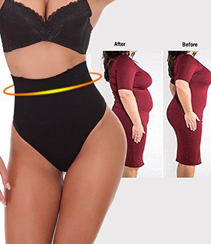 e6c396c0b1 LANFEI Women Waist Cincher Underwear Tummy Control Thong Shapewear Panties
