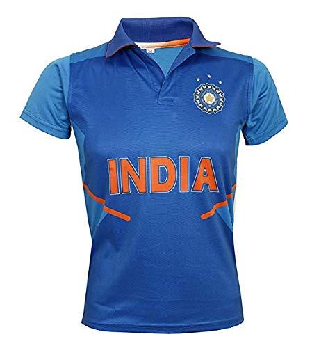 KD Cricket Jersey World Cup 2019 Supporter T-Shirt ODI Cricket Team Uniform India Australia South Africa England Pakistan Bangladesh(India,40) (Australia Cricket T Shirts)