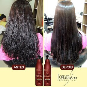 FOREVER LISS MAXX BRAZILIAN KERATIN TREATMENT KIT 2 X 1000ML by Forever Liss Professional (Image #5)