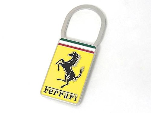 Ferrari Official Enamel Badge Logo Clip Style Keychain 95991640