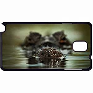 New Style Customized Back Cover Case For Samsung Galaxy Note 3 Hardshell Case, Back Cover Design Alligator Personalized Unique Case For Samsung Note 3