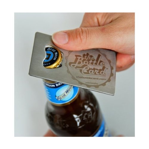 Bottle Card – Credit Card Bottle Opener (fits in your wallet!)