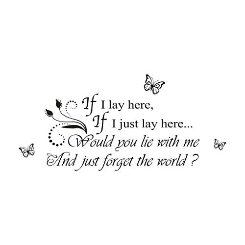 if i lay here wall decal - 4