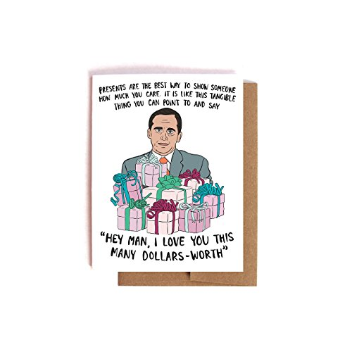 Michael Scott The Office Birthday Card