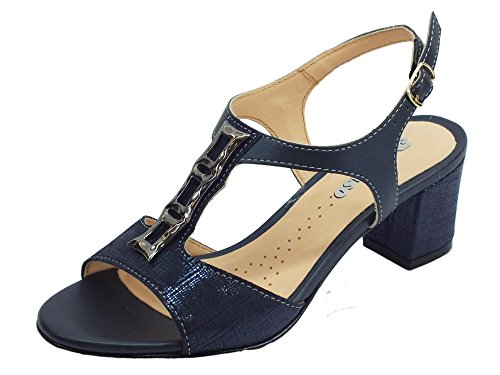 Melluso Women's Court Shoes Blue EyWDfq