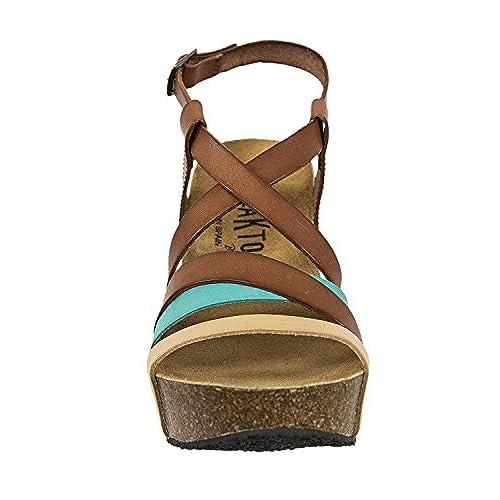 2ed54c26d0bc7f sandales - nu pieds plakton i song marron 30%OFF ...