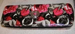 Brighton Madison Floral Jewelry Case (black)