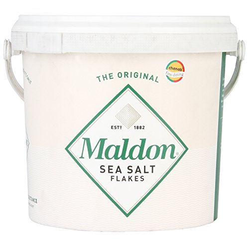 Maldon Sea Salt Flakes 1.5kg/3.3lbs Tub