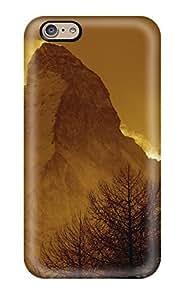 New Tpu Hard Case Premium Iphone 6 Skin Case Cover(matterhorn)