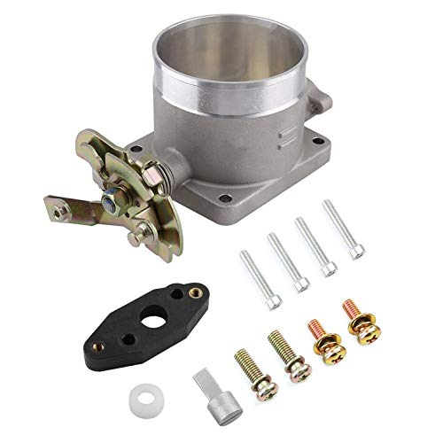 Universal 75mm Throttle Body For Ford For Mustang 4.6L SOHC 2 Valve Engines Intake Manifold Vehicle Accessories ()