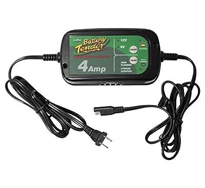 Battery Tender 022-0209 Selectable 6-V/12-V 4-Amp Power Tender Battery Charger - 4 Amp