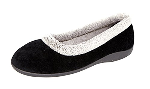 Nero Sleepers Donna Donna Pantofole Sleepers Pantofole xqwS8PXBx