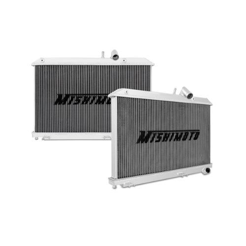 Price comparison product image Mishimoto MMRAD-RX8-04 Mazda RX-8 Performance Aluminum Radiator Manual,  2004-2008,  Silver