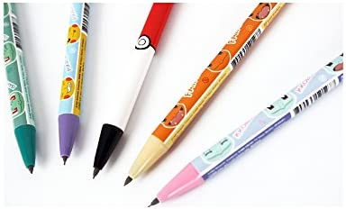 Pokemon Pikachu Mechanical Pencil 0.5mm Anti-Break Delguard System Japan Import