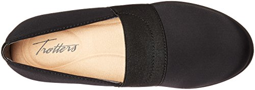 Trotters Womens Marley Wedge Pump Nero Micro