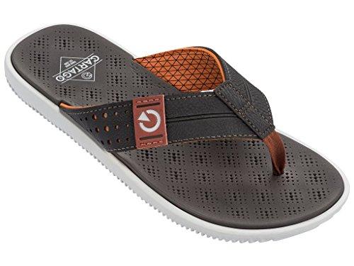 Adulto C11239 Unisex Thong Barcelona y Zapatos de Piscina Raider Blanco 24343 Playa Cartago Chanclas Blanco AD 6nPqwvBaUx